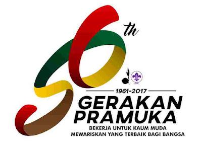 Logo Hari Pramuka Ke-56