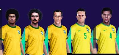 PES 2021 Facepack Brazil NT 1970 by MictlanTheGod