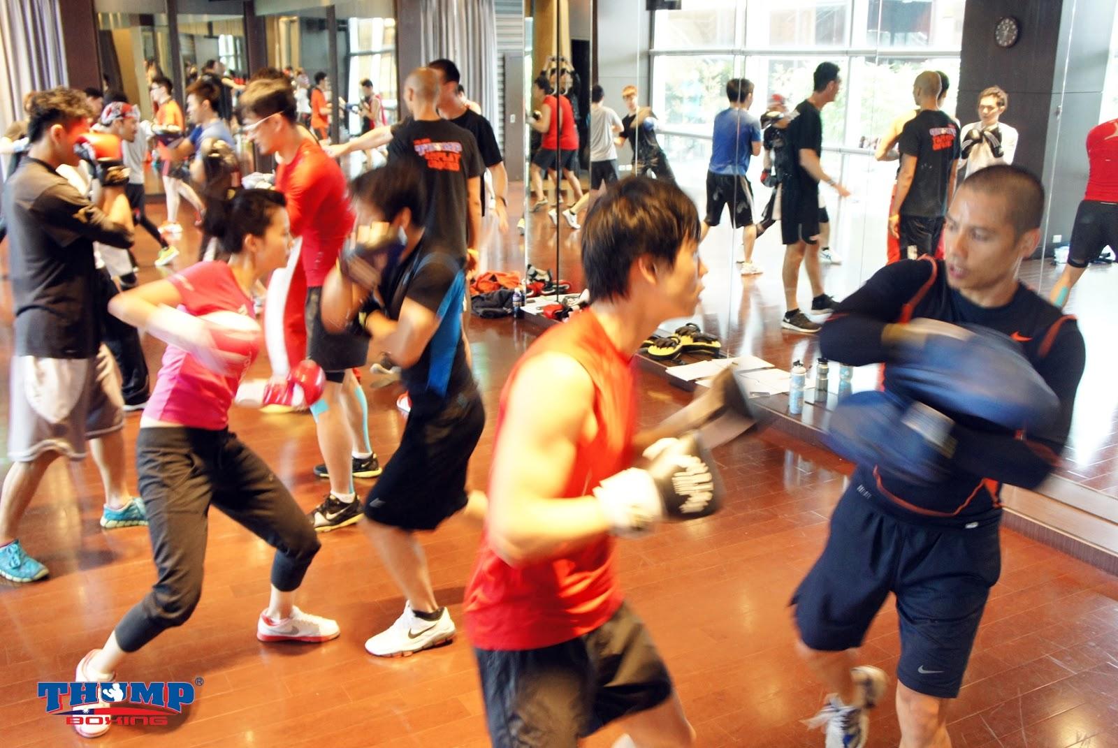 超熱血的澳洲拳擊THUMP Boxing初體驗 @ 老頭碎碎唸 :: 痞客邦