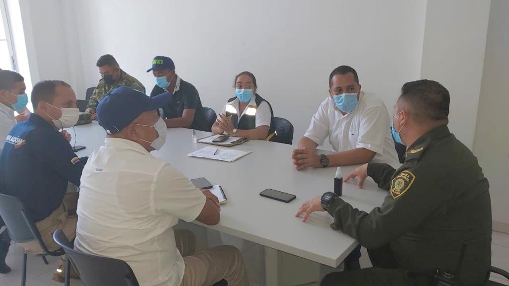hoyennoticia.com,  Autoridades garantizarán tranquilidad en movilizaciones del paro nacional en Riohacha