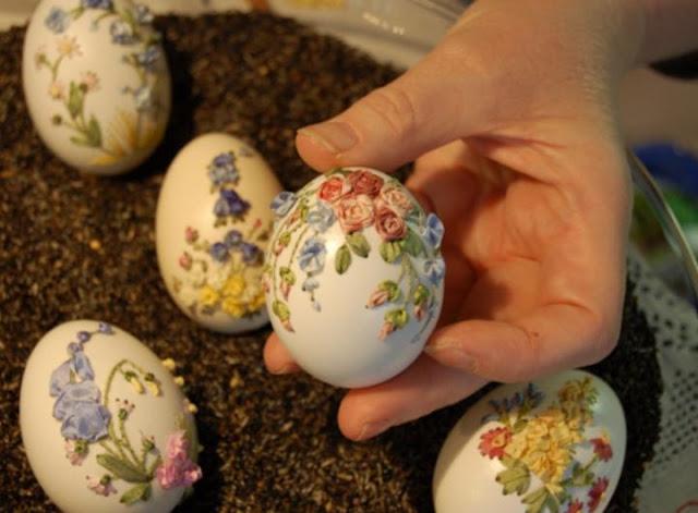 أفكار  مبتكرة لتزيين البيض فى شم النسيم
