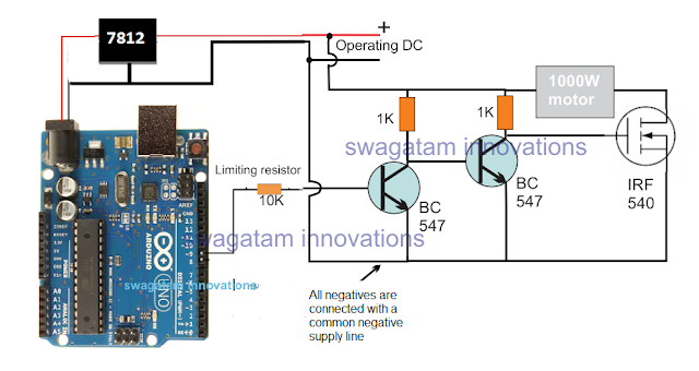 how to connect mosfet with Arduino