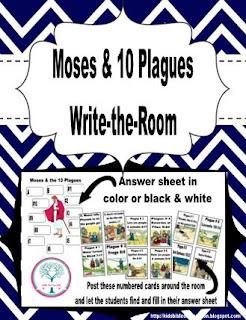 http://www.biblefunforkids.com/2015/08/write-room-moses-10-plagues.html