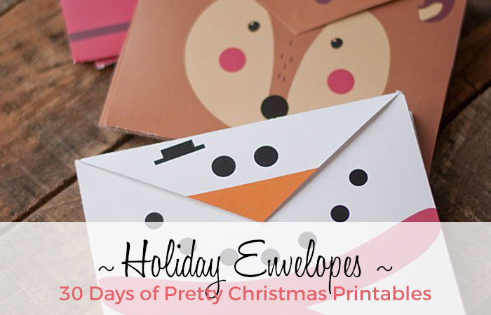 Extremely cute holiday envelopes made by This Heart of Mine. Featured on GradeONEderfulDesigns.com