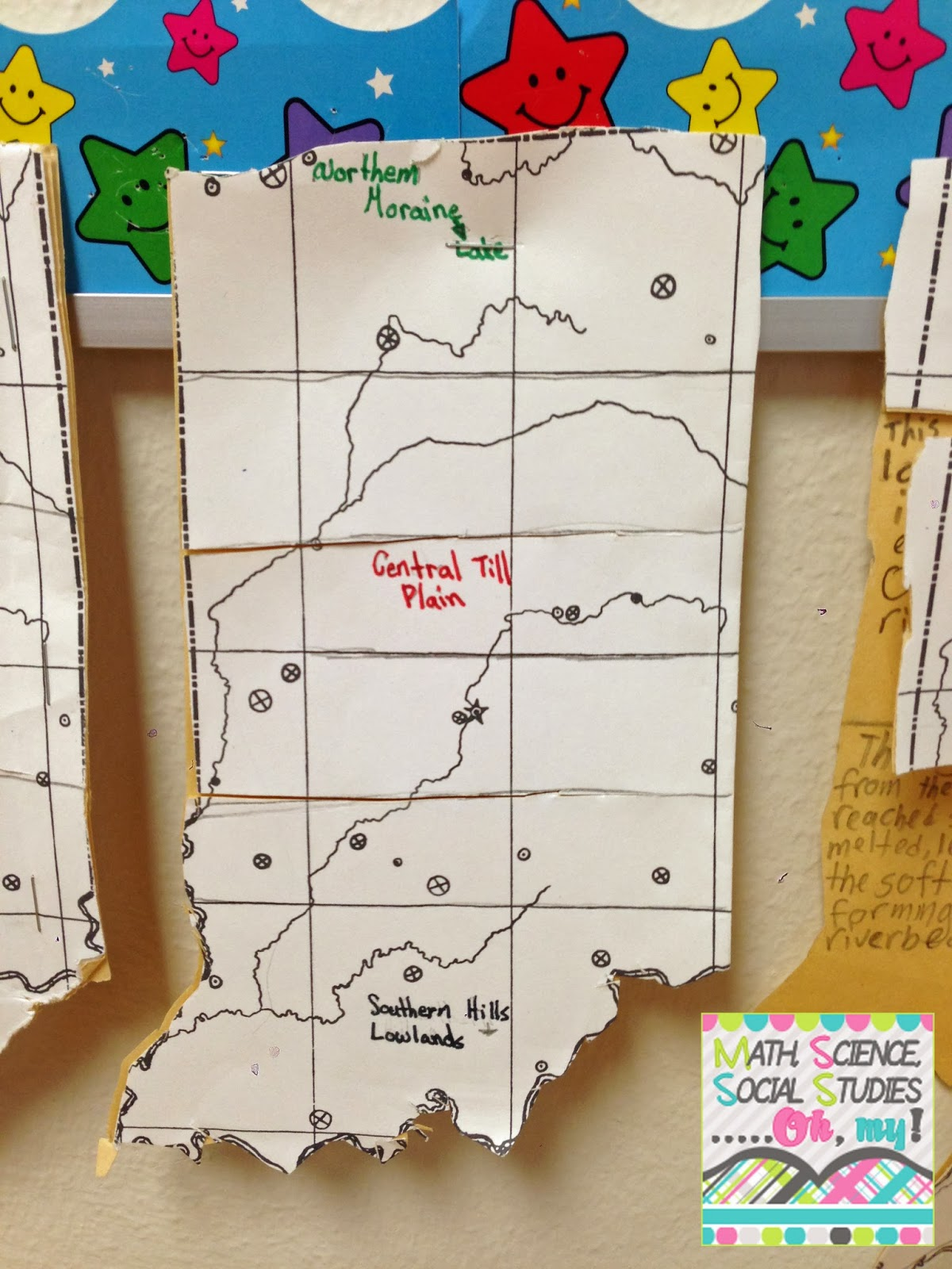 Foldable Friday Regions Of Indiana