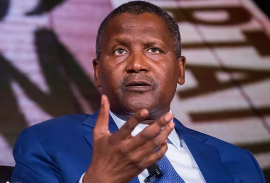 Aliko Dangote donated towards fight against coronavirus