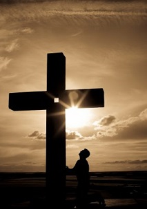 The Mediator of a Better Covenant - Kneeling at the Cross