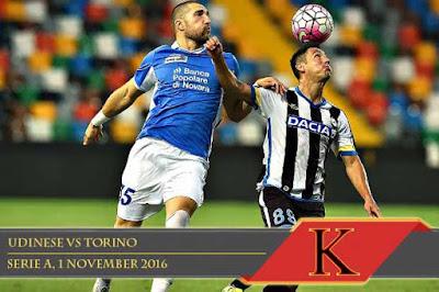 Prediksi Skor Udinese vs Torino 1 November 2016