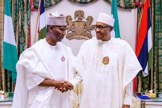 President of the United Nations General Assembly, Tijjani Visits Pres. Buhari (Photo)