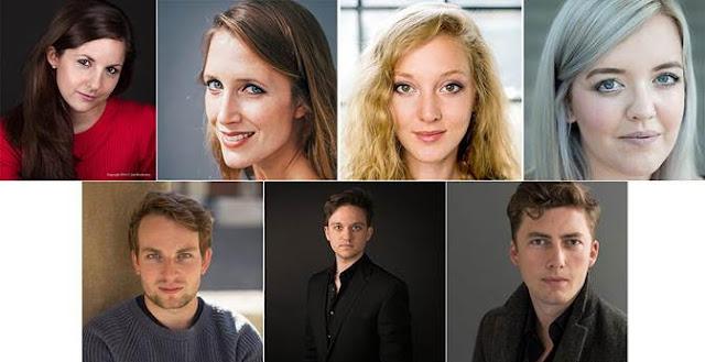 Zoë Brookshaw, Sofia Larsson, Bethany Horak-Hallett, Sinéad O'Kelly, Guy Cutting, Hugo Hymas, Dominic Sedgwick