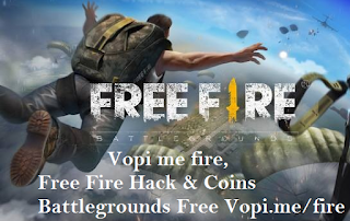 Vopi me fire, Free Fire Hack & Coins Battlegrounds Free Vopi.me/fire
