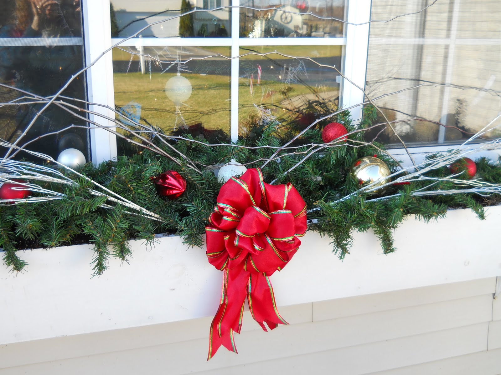 Homey Home Design Window Box Update For Christmas