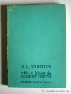 Robert Owen y la utopía New Armony, Tomás Moreno