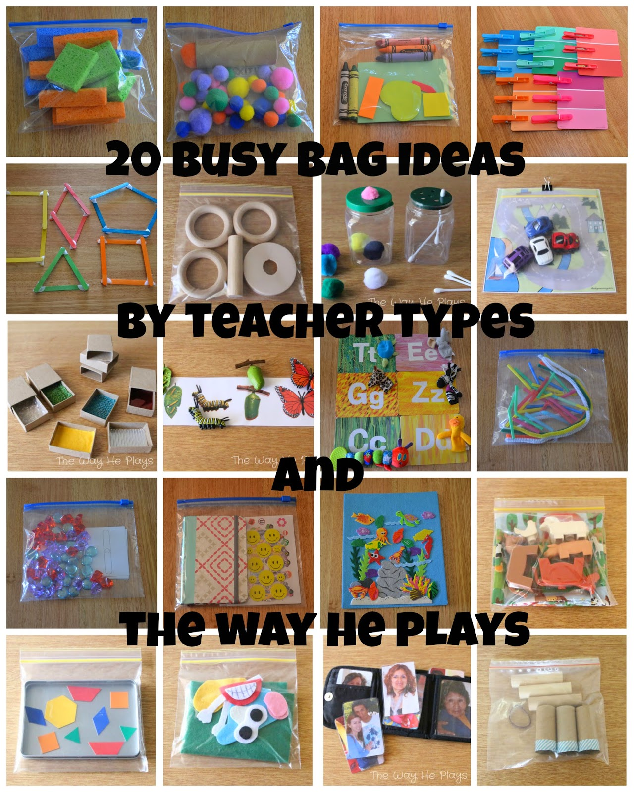 20 Busy Bags Ideas For Busy Little People