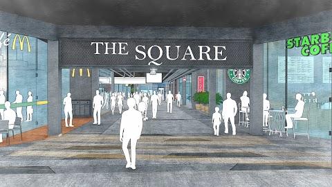 The Square Berwajah Baru Bermula Disember 2018