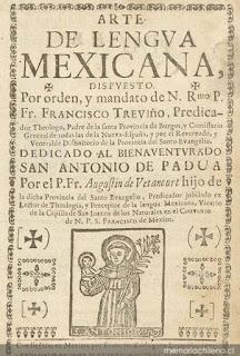 La voz náhuatl hecha grafía:  las primeras gramáticas del México colonial