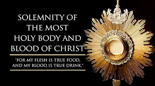 Corpus Christi: Body And Blood Of Christ - Catholic Mass Reading, 14 June 2020