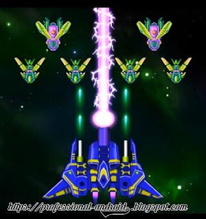 تحميل لعبة حرب الفضاء جلاكسي اتاك الين شوتر galaxy attack : Alien Shooter مهكرة للاندرويد