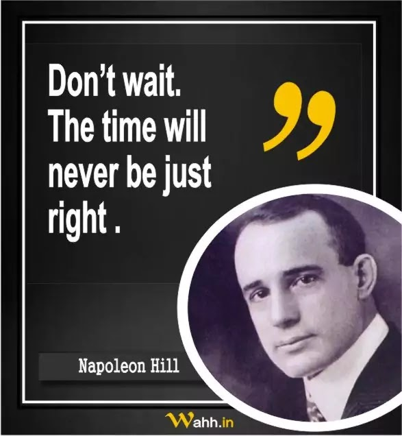 Napoleon Hill Thought Of The Day