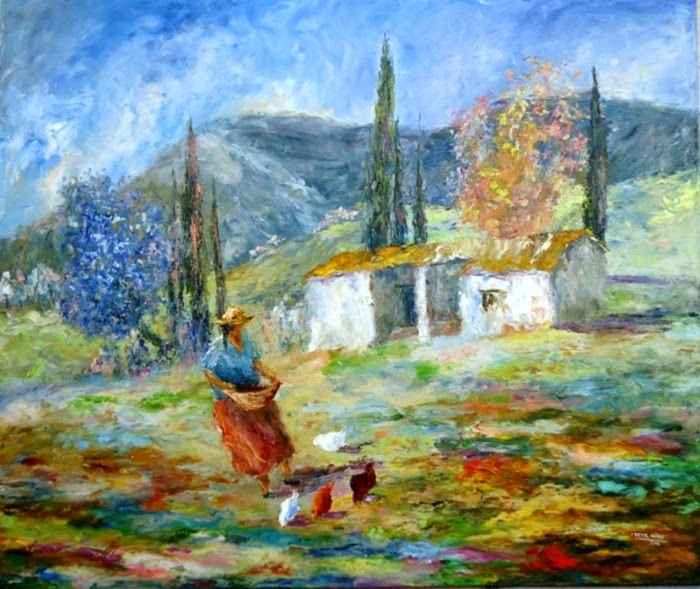 Аргентинская художница. Cecilia Revol Nunez