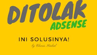 Solusi Mendaftar AdSense