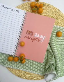 Bread & Butter: Embracing the Practicalities of Life, While Making Time for What Matters.  Cookbook, meal planner, shopping list organizer, recipe booklet.