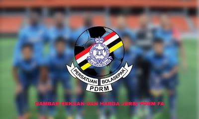 Gambar Rekaan dan Harga Jersi Baru PDRM FA 2020