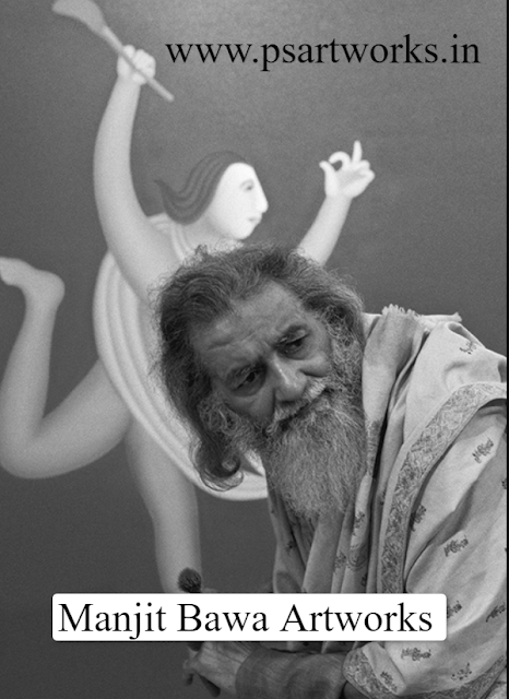 Manjit Bawa Biography,Life,Artworks