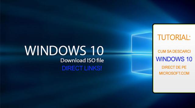 Tutorial: Download Windows 10 direct links