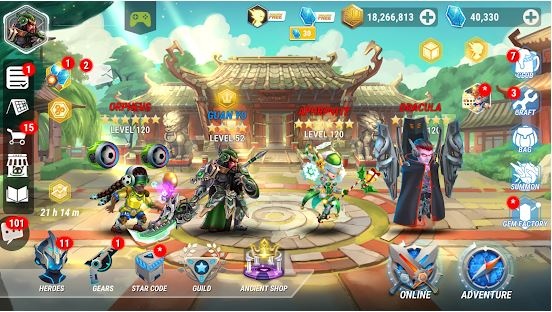 Download Heroes Infinity MOD APK 1.30.12L (MOD Unlimited Money) For Android 1