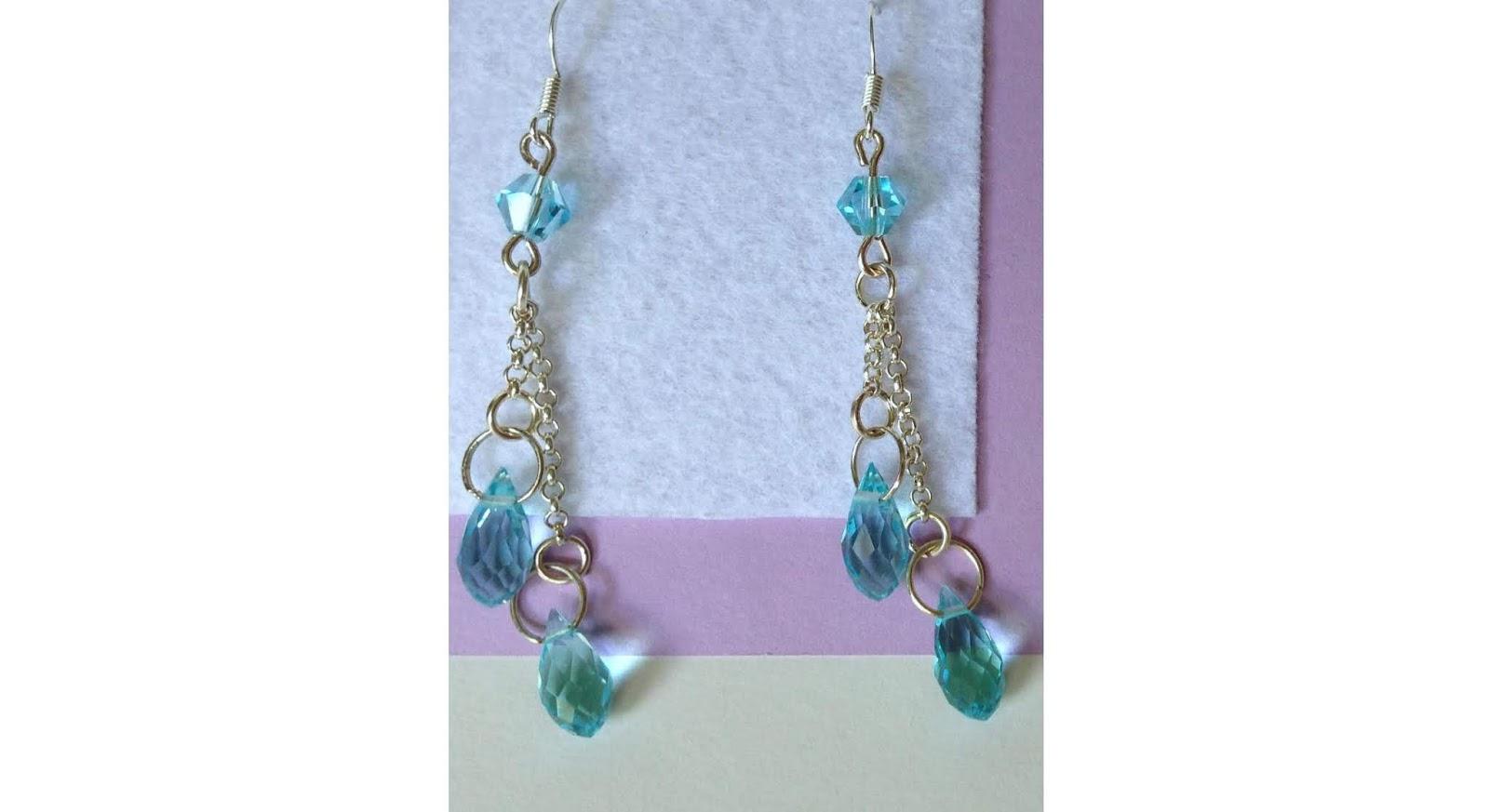 twilight teardrop earrings
