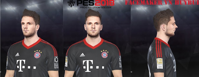 Sven Ulreich Face PES 2018