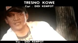 Lirik Lagu Tresno Kowe - Didi Kempot