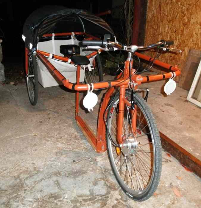 Trottinette camping-car