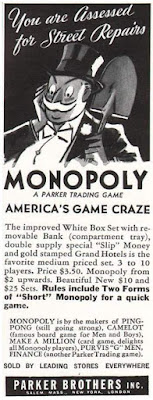 Monopoly -- Parker Brothers