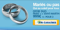 BILLETS SAINT MARTIN DUO 450 EUROS AIR CARAIBES