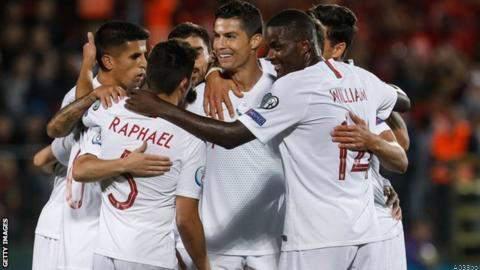 CR7 Breaks Robbie Keane Record in Euro Win