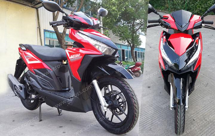 Xuất hiện xe máy Trung Quốc giá 600 USD, nhái thiết kế Honda Vario