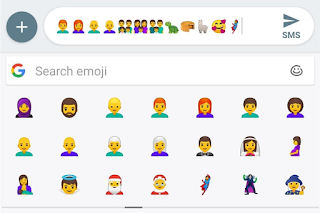 Latest Android P Beta Packs new Redhead and Gender-neutral emojis