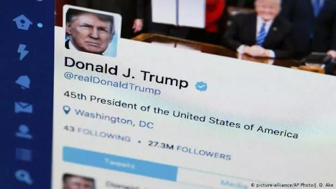 حظر ترامب من تويتر وتويش وفيس بوك