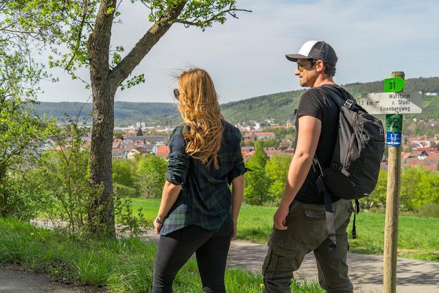 LT 17 Kur und Wein | Wandern in Bad Mergentheim | Liebliches Taubertal Weinlehrpfad Markelsheim | Wanderung um Bad Mergentheim 15