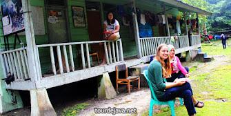 penginapan barak wisata ujung kulon banten