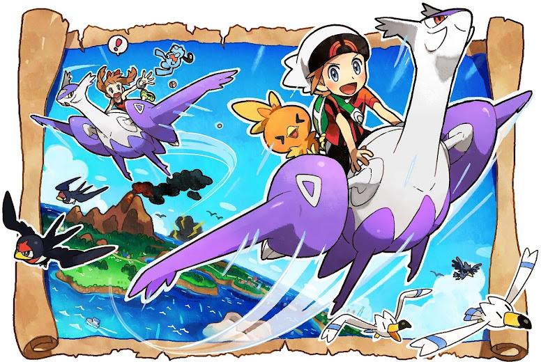 Soaring e Mirage Spots - Pokémon OmegaRuby e AlphaSapphire