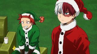 ヒロアカ5期 轟焦凍 クリスマス | Todoroki Shoto | ショート | CV.梶裕貴 | 僕のヒーローアカデミア アニメ | My Hero Academia | Hello Anime !