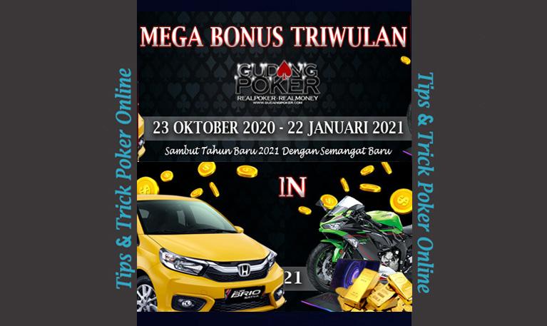 Gudangpoker [EVENT] Mega Bonus TRIWulan !!!
