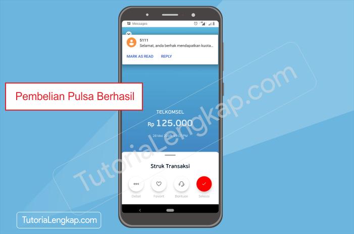 tutorialengkap 5 Cara Beli Pulsa Online dengan Harga Murah Melalui Aplikasi Linkaja di HP Android