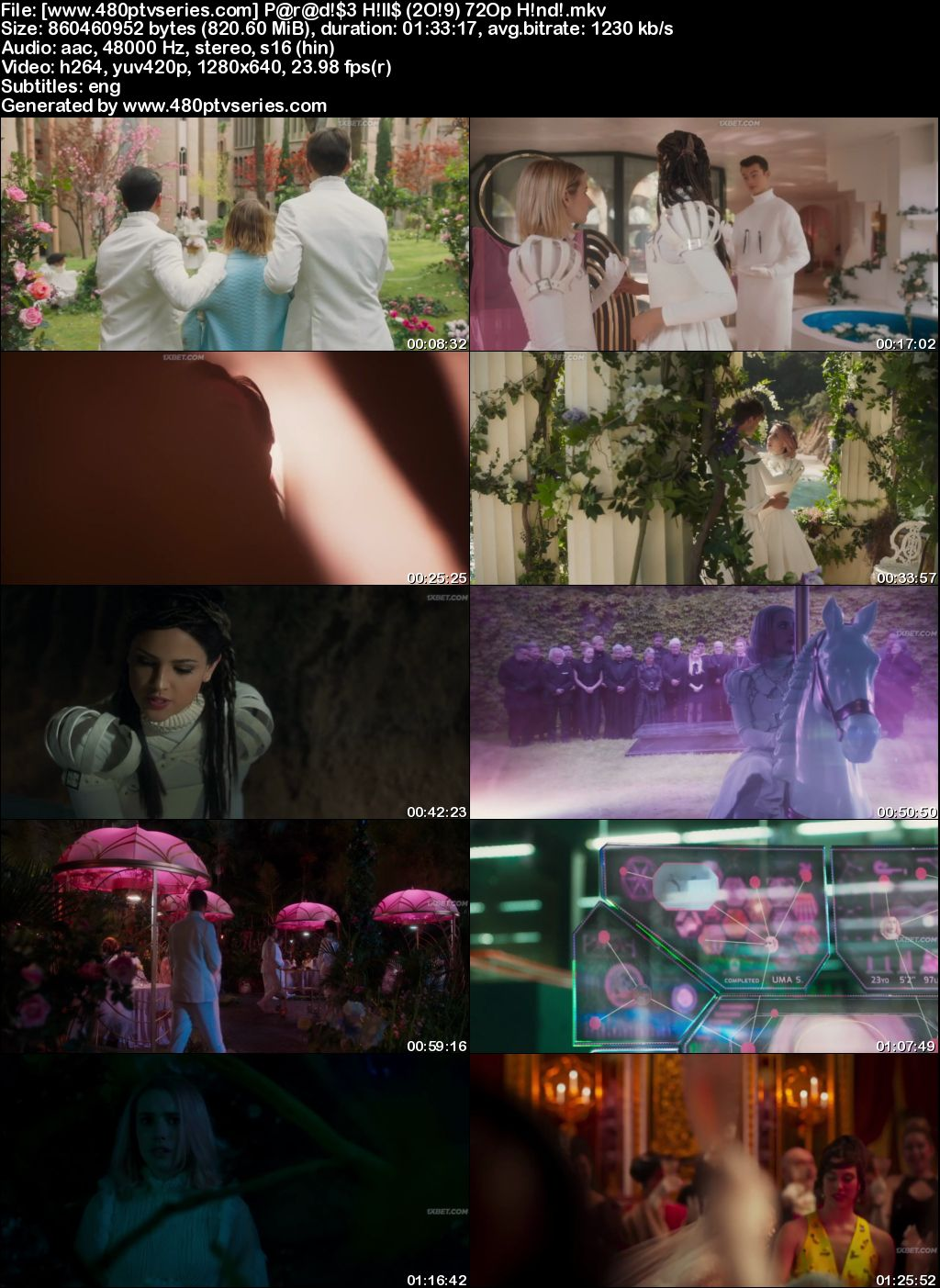 Download Paradise Hills (2019) 800MB Full Hindi Dubbed Movie Download 720p HDRip Free Watch Online Full Movie Download Worldfree4u 9xmovies