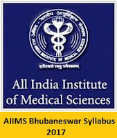 AIIMS Bhubaneswar Staff Nurse Grade I & II Syllabus 2017