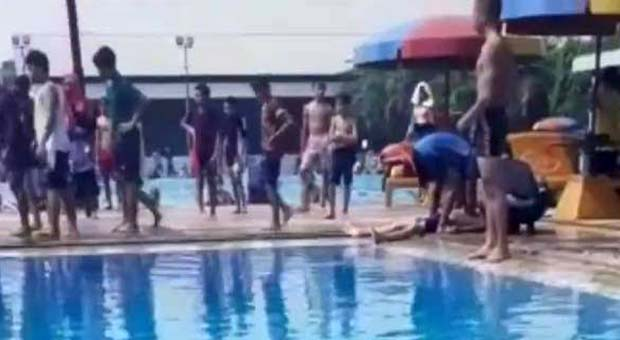 Dua Remaja Tewas Saat Berenang di Kolam Marinir Cilandak