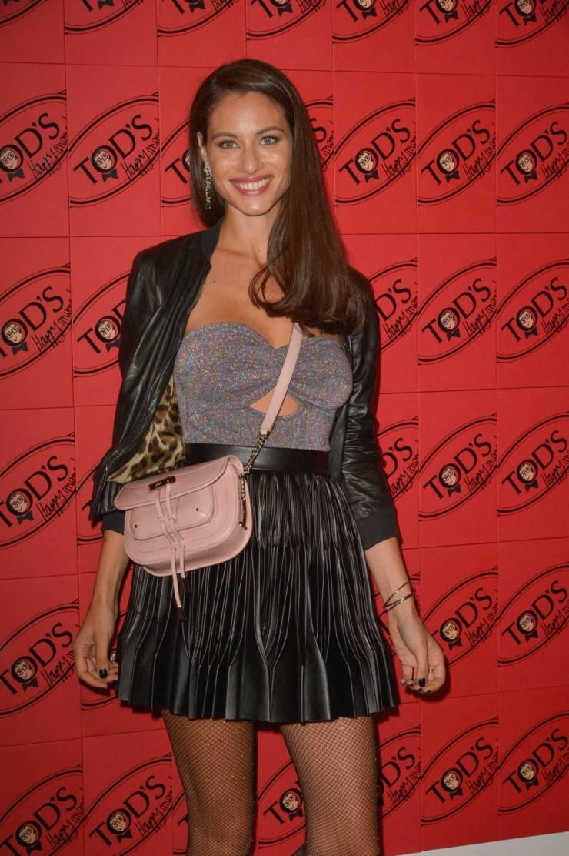 Miriam Leone At Tod's x Alber Elbaz Happy Moments Party